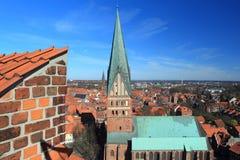 Sankt- Nikolauskirche in Lunenburg Stockfotografie