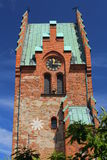 Sankt- Nikolauskirche in Trelleborg in Schweden Stockbilder