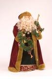 Sankt- Nikolausweihnachtsstatue Stockbild