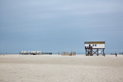 Sankt Peter Ording Royalty Free Stock Photo