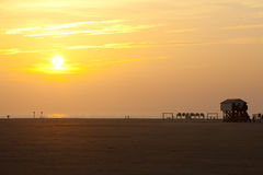 Sankt Peter Ording Royalty Free Stock Images