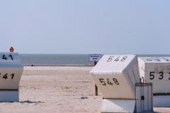 Sankt Peter-Ording beach Stock Photo