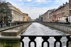 Sankt Petersburg view Royalty Free Stock Photos