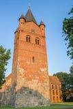 Sankt Petri Church av Westerstede i lägre Sachsen fotografering för bildbyråer