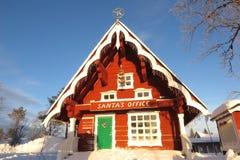 Sankt-` s Büro in Lappland, Finnland Lizenzfreie Stockbilder