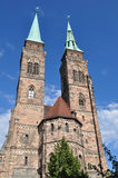Sankt Sabaldus church in Nuremberg,Germany Stock Photo
