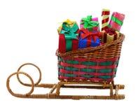 Sankt-Schlitten mit Geschenken 2 Lizenzfreies Stockbild