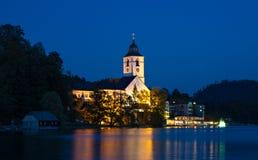 Sankt Wolfgang at twilight Royalty Free Stock Photos