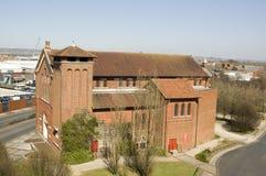 Sanktt Agathas kyrka, Portsmouth Royaltyfri Foto