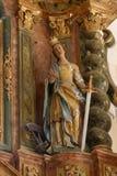 Sanktt Catherine av Alexandria Royaltyfria Foton