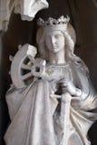 Sanktt Catherine av Alexandria Royaltyfri Foto