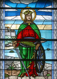 Sanktt Catherine av Alexandria Arkivbilder