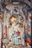 Sanktt Catherine av Alexandria Arkivbild