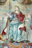 Sanktt Catherine av Alexandria Arkivfoton