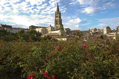 Sanktt Emilion, Frankrike Royaltyfria Bilder