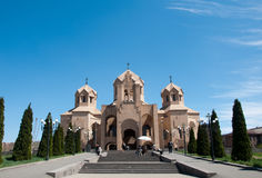 Sanktt Gregory illuminationsenhetsdomkyrkan Arkivfoton
