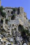 Sanktt Hilarion slott, Kyrenia, Cypern Royaltyfria Bilder