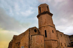 Sanktt Laurent kyrka, Marseille, Frankrike. Royaltyfri Fotografi