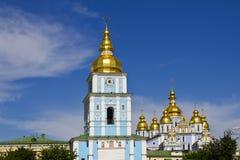 Sanktt Michaels Guld--Kupolformiga domkyrka, Kyiv Royaltyfria Foton