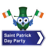 Sanktt Patrick dagdeltagare Arkivfoton