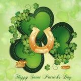 Sanktt Patricks dagkort Royaltyfri Foto