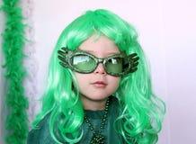 Sanktt-Patricks liten flicka royaltyfri fotografi
