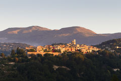 Sanktt Paul de Vence, Provence Arkivbild