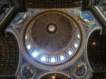 Sanktt Peters Basilica arkivbilder