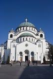 Sanktt Sava kyrka Royaltyfri Bild