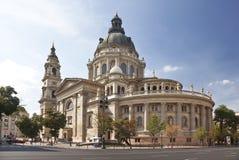 Sanktt Stephens Basilica i Budapest Royaltyfri Fotografi