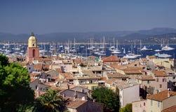 Sanktt Tropez arkivbilder