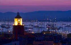 Sanktt Tropez royaltyfri fotografi