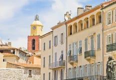 Sanktt Tropez, Frankrike arkivbild