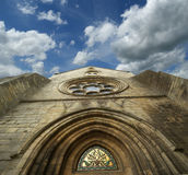 Sanktt Vincent Abbeyfrance, senlis, picardy, oise Royaltyfri Bild