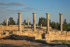 Sanktuarium Apollon Hylatis Południowy budynek Cypr Zdjęcie Royalty Free