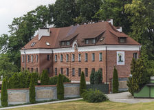 Sanktuarium Boska litość w Krakow Zdjęcie Stock