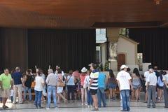 Sanktuarium Fatima w Portugalia Zdjęcia Stock