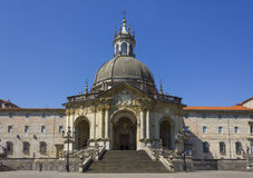 Sanktuarium Loyola w Azpeitia, Baskijski kraj Fotografia Royalty Free