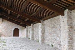 Sanktuarium Macereto, architektoniczni szczegóły Obraz Royalty Free