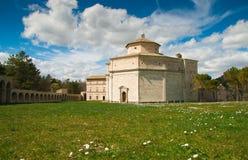 Sanktuarium Macereto jest kaplicą Zdjęcie Stock