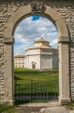 Sanktuarium Macereto w Marche regionie Zdjęcie Stock