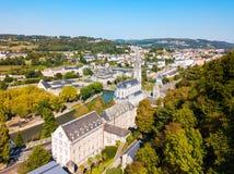 Sanktuarium Nasz dama kościół, Lourdes zdjęcie royalty free