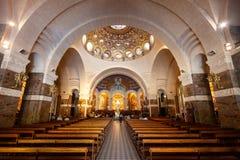 Sanktuarium Nasz dama ko?ci??, Lourdes zdjęcia royalty free
