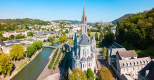 Sanktuarium Nasz dama ko?ci??, Lourdes fotografia royalty free