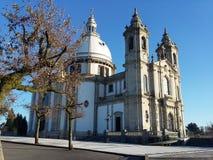 Sanktuarium Nasz dama Sameiro obrazy royalty free