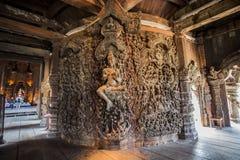 Sanktuarium prawda w Pattaya, Tajlandia Zdjęcie Royalty Free