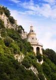 Sanktuarium Queralt przy Pyrenees catalonia Zdjęcia Royalty Free