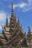 sanktuarium Thailand pattaya prawdy. Obrazy Stock
