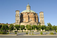 sanktuarium vicoforte Obrazy Royalty Free