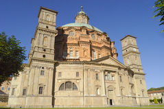 sanktuarium vicoforte Zdjęcia Royalty Free
